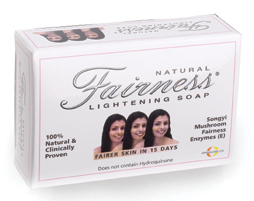 Natural Fairness Skin Lightening Beauty Bar Soap